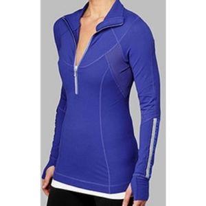 Lululemon Run Dash 1/2 Zip Pullover